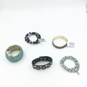 Vivi Jewelry new bracelet bundle beaded rhinestone